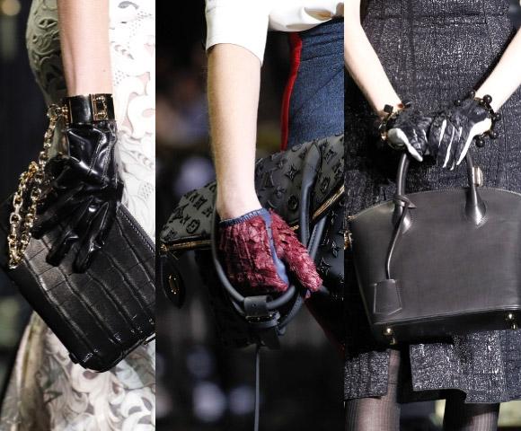 Модные перчатки 2011-2012, осень-зима.